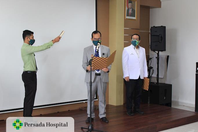Serah Terima Jabatan Direksi Persada Hospital