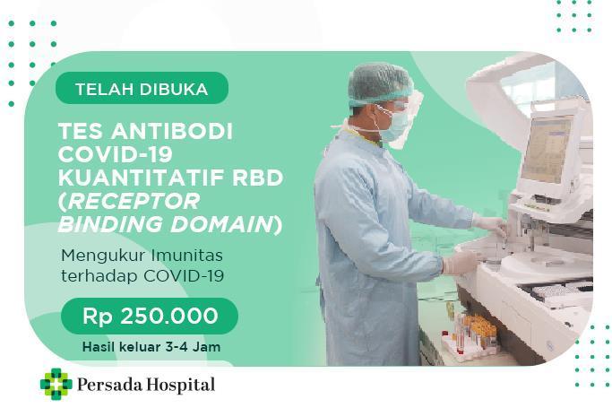 Tes Antibodi COVID-19 Kuantitatif RBD (Receptor Binding Domain)