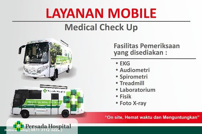 Layanan Mobile Medical Check Up