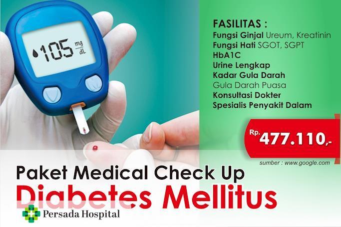 Promo Paket Medical Check Up Diabetes Mellitus
